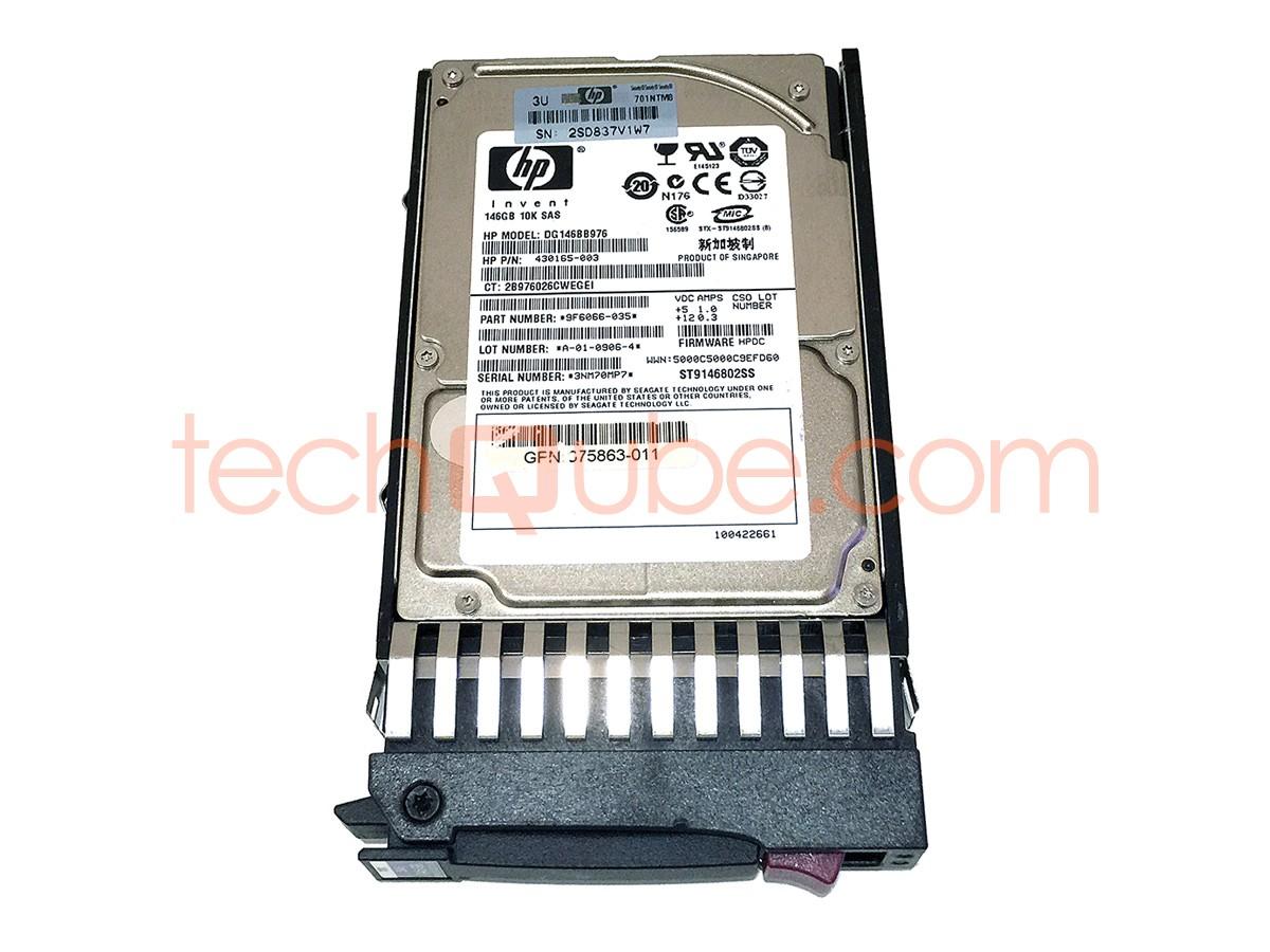 375863-010-HP 146GB 10K SAS DUAL PORT DRIVE