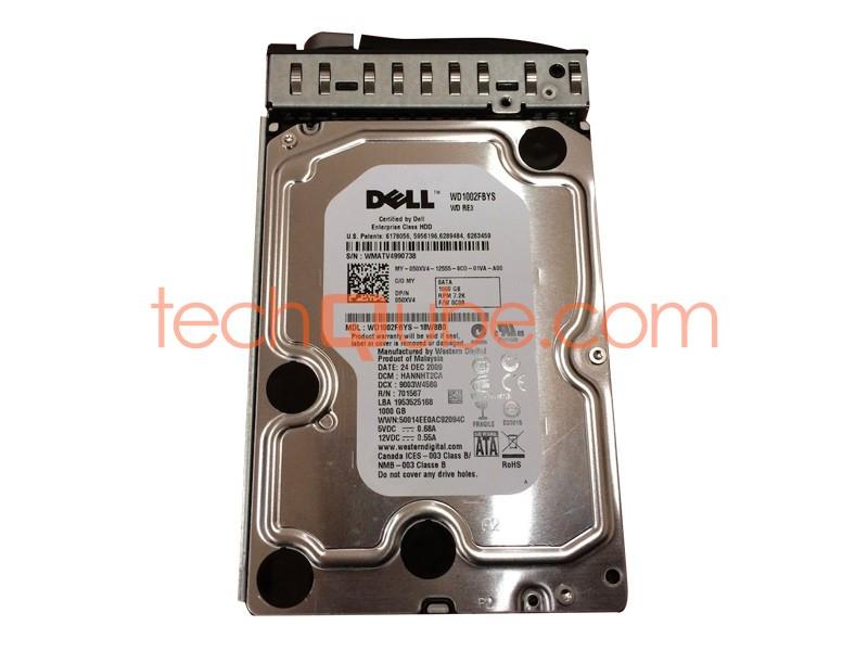 """Dell//Western Digital 50XV4 WD1002FBYS 1TB 7200RPM 3.5/"""" SATA Hard Drive"""