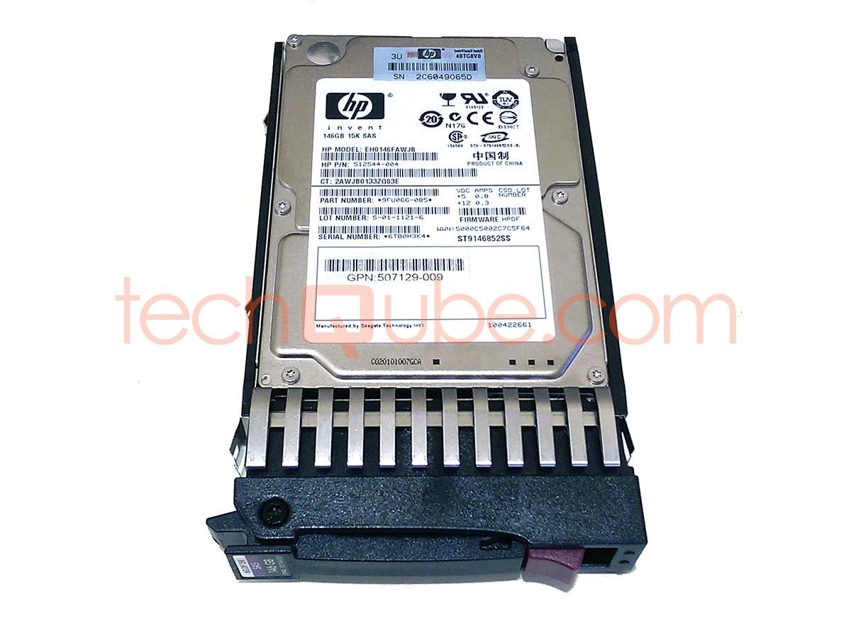 Lot of 10 HP 146GB 15K 6GBPS SAS 2.5/'/' HARD DRIVE 512744-001 512547-B21