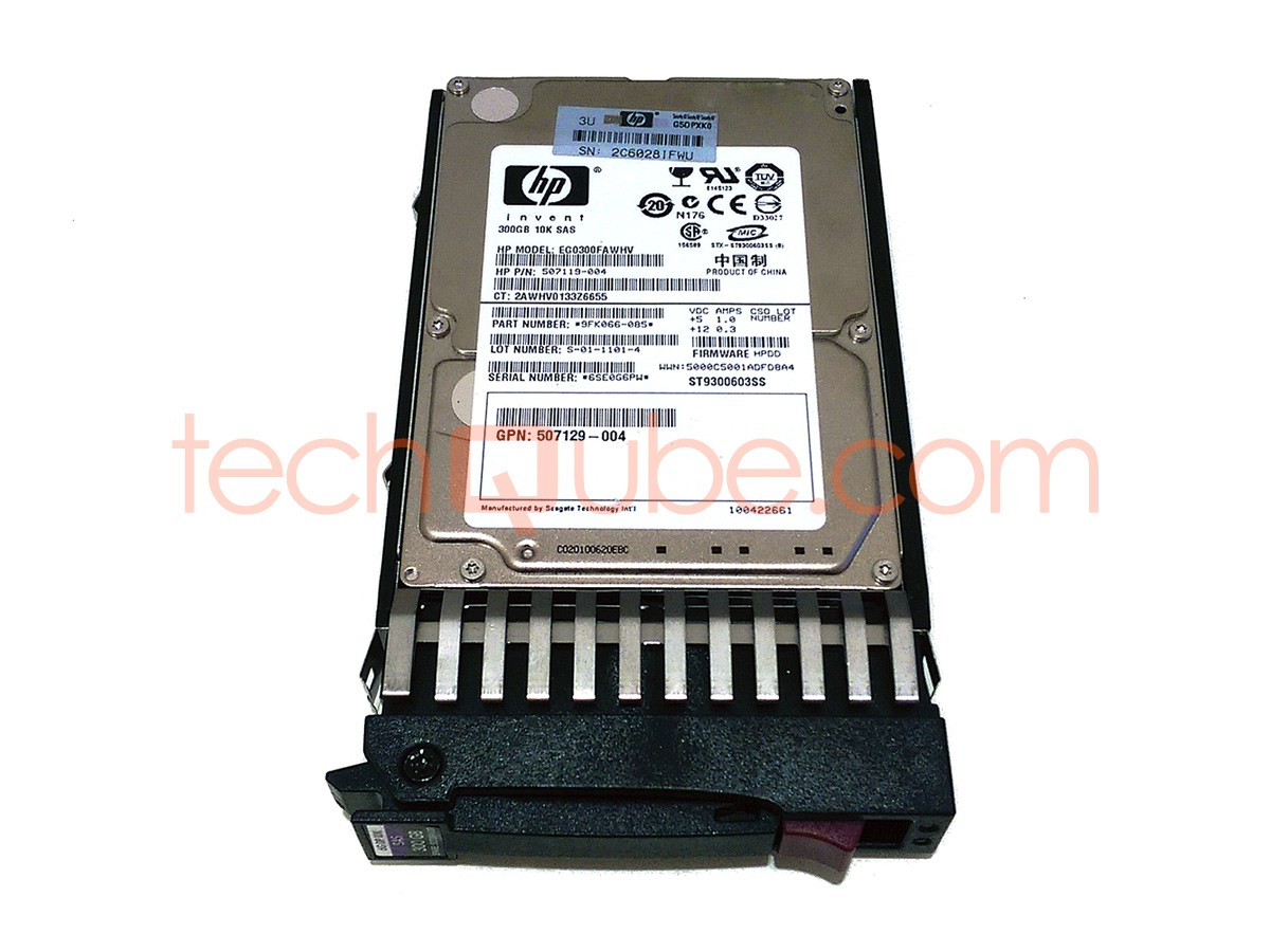 """300GB HP EG0300FAWHV 10K  2.5/"""" SAS Hard Drive"""