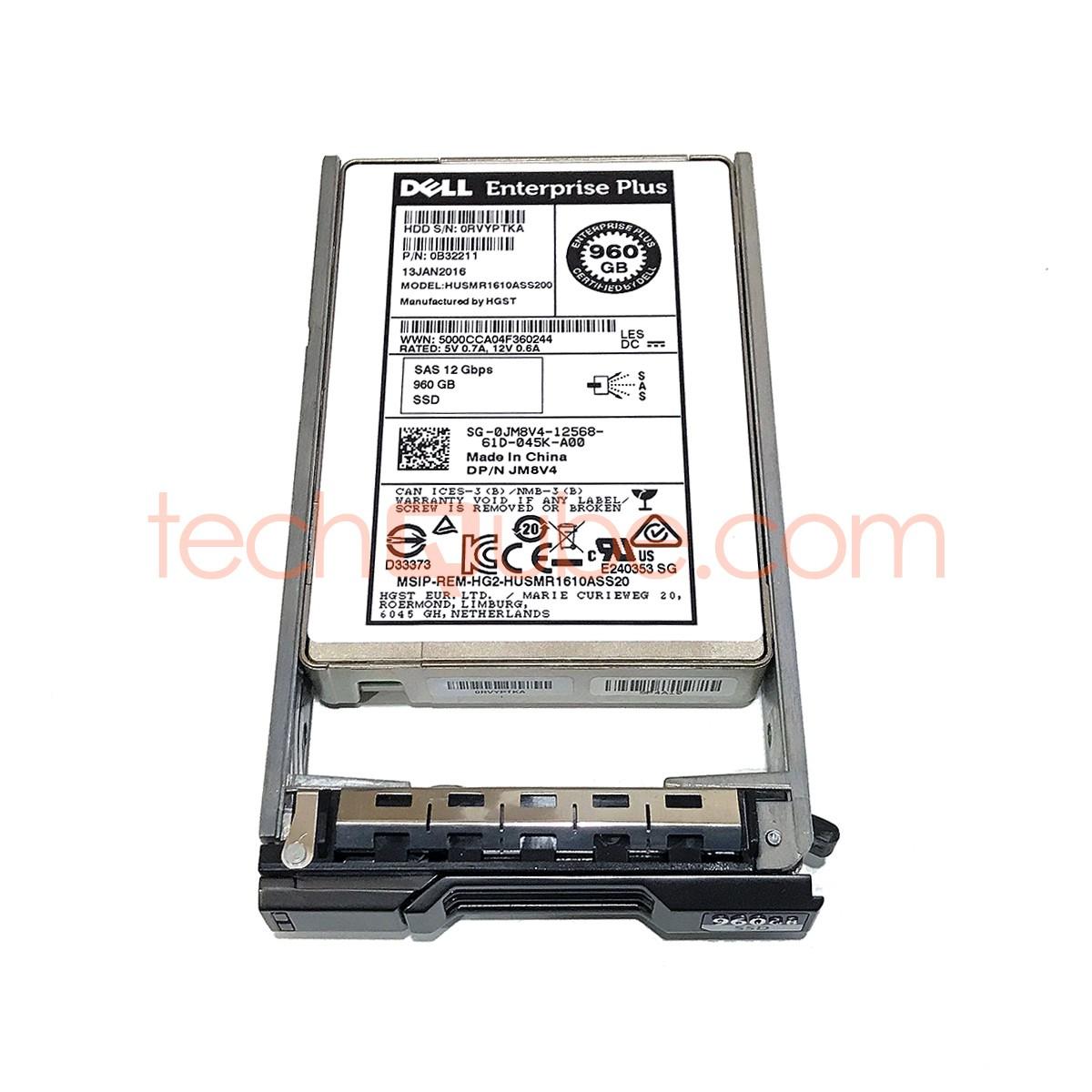 Dell Compellent JM8V4 960GB 2 5
