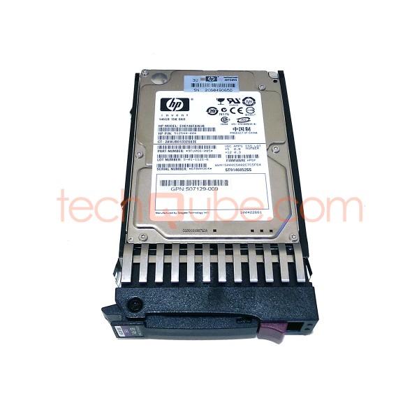 """HP EH0146FAWJB 146GB Internal 15000RPM 2.5/"""" HDD 512544-004"""